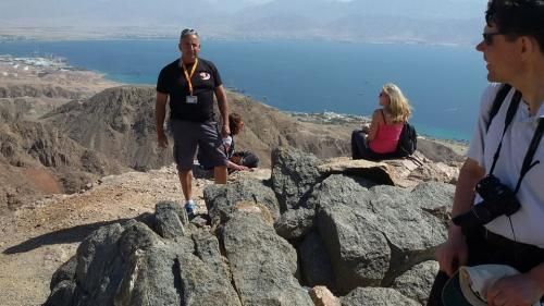 The summit of Mount Slate-Eilat Mountains